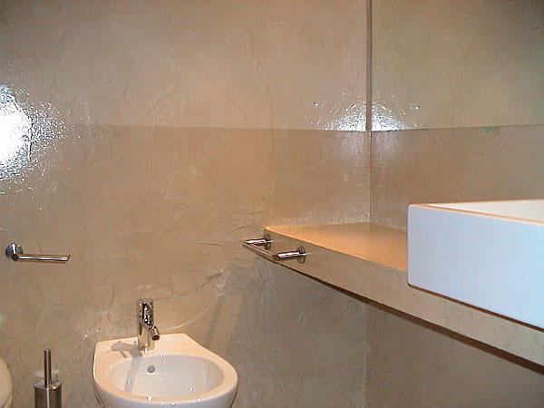 Best bortignon servizi in resina with resina pareti bagno - Resina pareti bagno ...